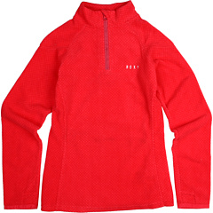 SALE! $16.99 - Save $23 on Roxy Kids Nightfall Half Zip Girl Fleece (Big Kids) (Moica Dots Raspberry) Apparel - 57.53% OFF $40.00