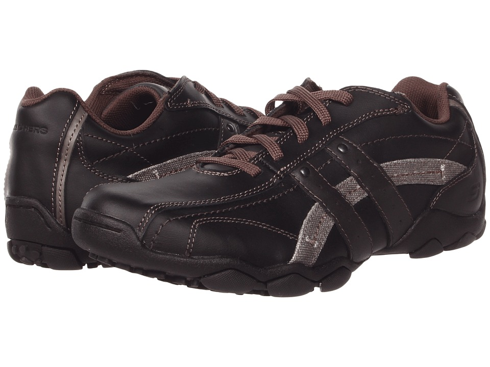 SKECHERS - Diameter (Black) Men's Lace up casual Shoes