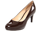 Cole Haan - Chelsea Low Pump (Chestnut Patent) - Cole Haan Shoes