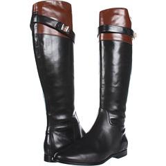 Cole Haan Daelin Riding Boot (Black Sequoia) Footwear