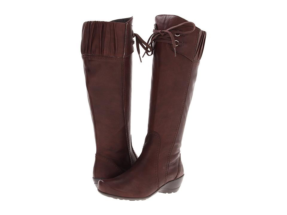 Antia - Enya (Mocha Montana Leather) Women's Zip Boots