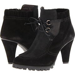 Antia Gloria (Black Suede with Leather) Footwear