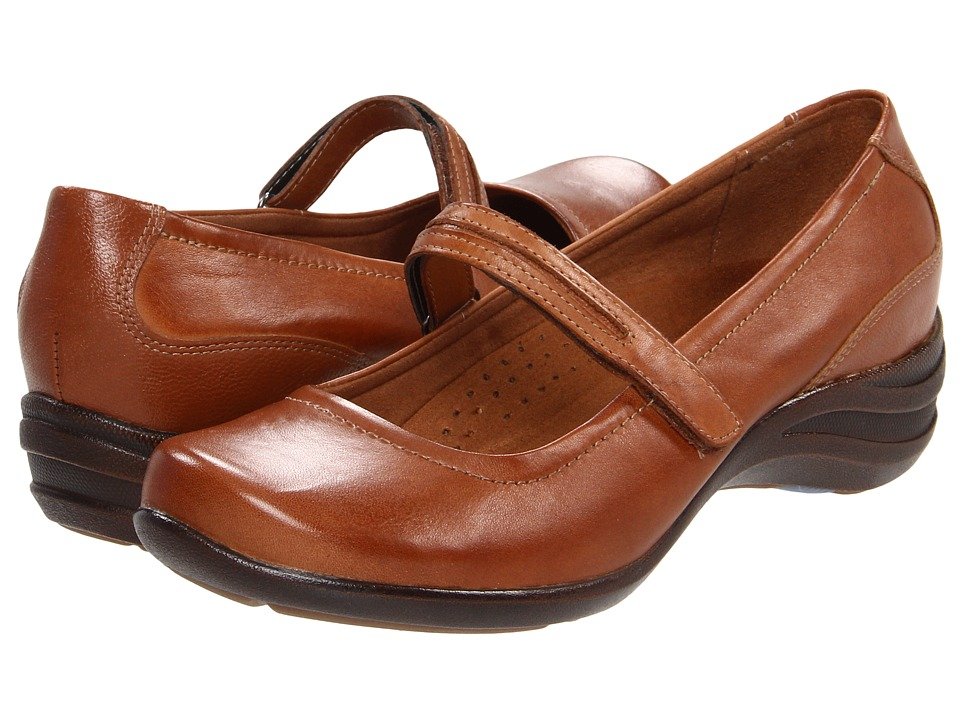 Hush Puppies - Epic Mary Jane (Tan Leather) Women's Maryjane Shoes