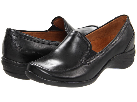 Hush Puppies - Epic Loafer (Black Leather) Women