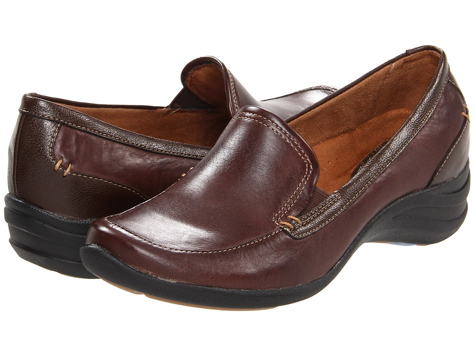 Hush Puppies - Epic Loafer (Dark Brown Leather) Women