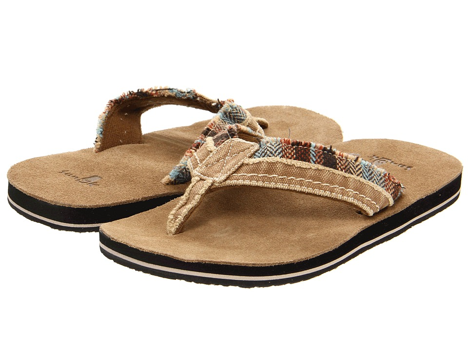 Sanuk - Fraid Too (Tan/Brown) Men's Sandals