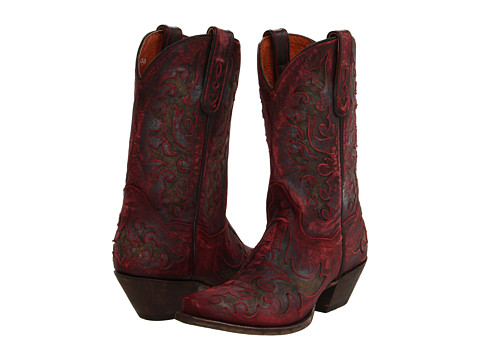 Dan Post - Zephyr (Sanded Red) Cowboy Boots