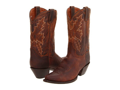 Dan Post - Cecilia (Bay Apache Distressed) Cowboy Boots