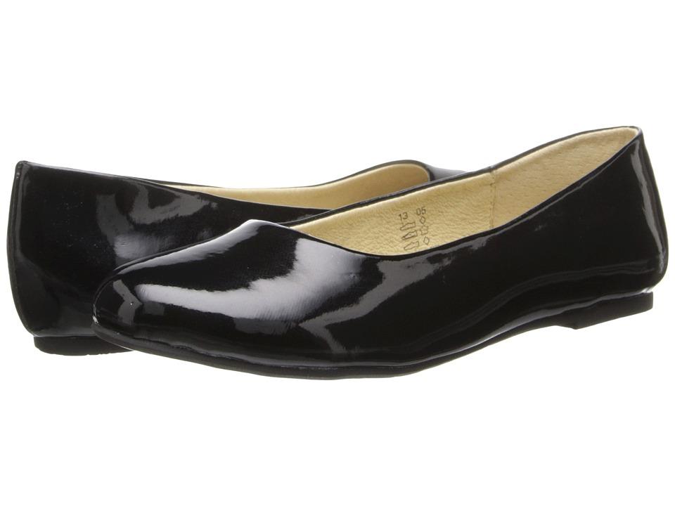 Pazitos AA BF PU (Toddler/Little Kid/Big Kid) (Black Patent) Girls Shoes
