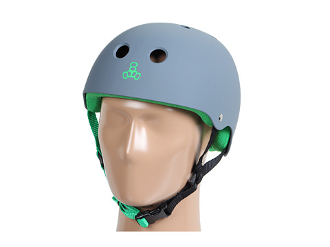 Triple Eight - Brainsaver Multi-Impact Helmet w/ Sweatsaver Liner (Carbon Rubber) Skateboard Helmet