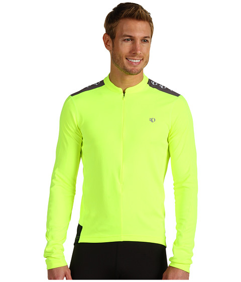 Pearl Izumi - Quest L/S Jersey (Screaming Yellow) Men