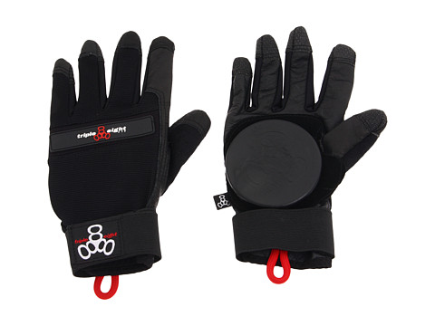 Triple Eight - Longboard Downhill Slide Glove (Black) Athletic Sports Equipment
