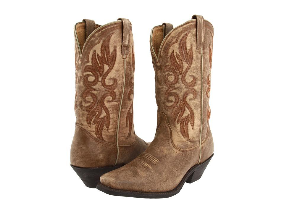 Laredo Maricopa (Tan/Tan Crackle Goat) Cowboy Boots