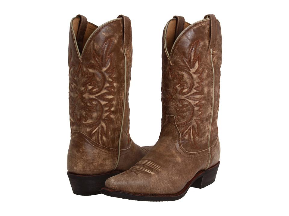 Dingo - Wyldwood (Tan/Tan Crackle Goat) Cowboy Boots