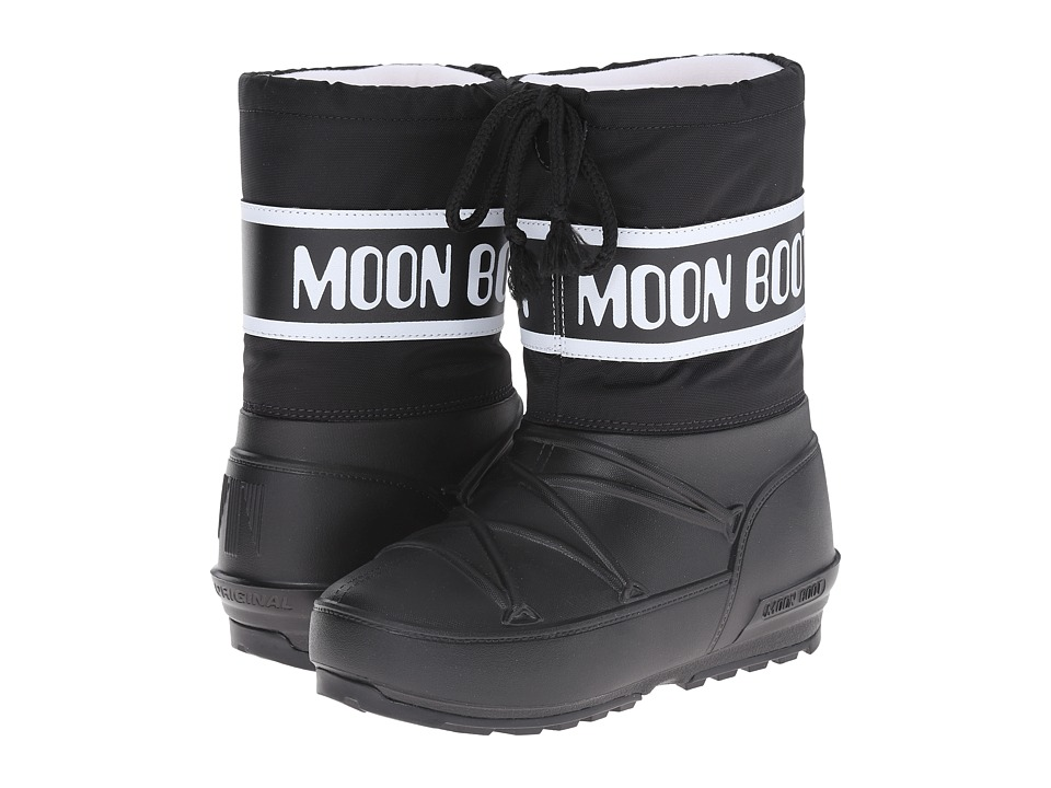 Tecnica Kids - Pod Jr. Moon Boot (Little Kid) (Black) Kids Shoes