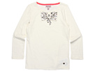 Juicy Couture Kids - Embellished Bow Top (Toddler/Little Kids/Big Kids) (Angel) - Apparel