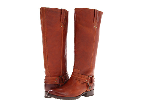 Frye - Melissa Harness (Whiskey Vintage Veg Tan) Women's Pull-on Boots
