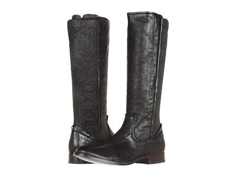 Frye - Melissa Scrunch (Black Antique Soft Full Grain) Women's Pull-on Boots