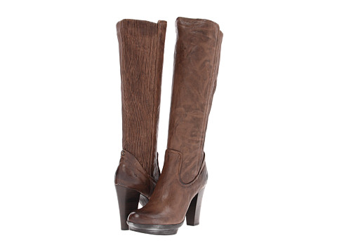 Frye - Mimi Back Scrunch (Taupe Antique Soft Full Grain) Women's Pull-on Boots