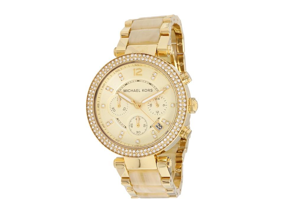 Michael Kors - MK5632 - Modern Safari Parker Chronograph (Gold) Watches