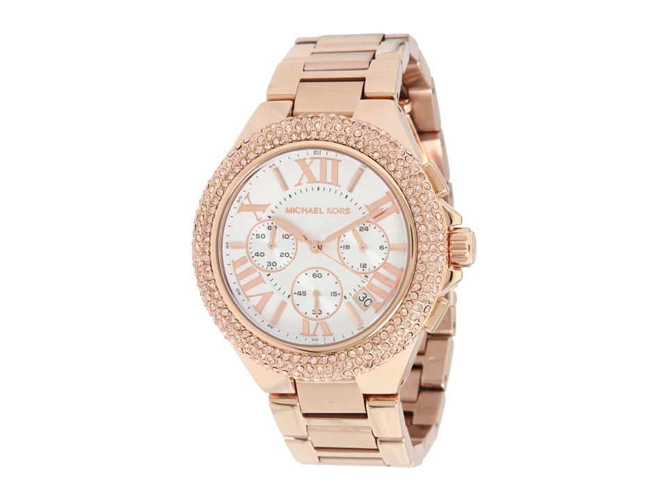 Michael Kors - MK5636 - Sport Camille Chronograph (Rose Gold) Watches