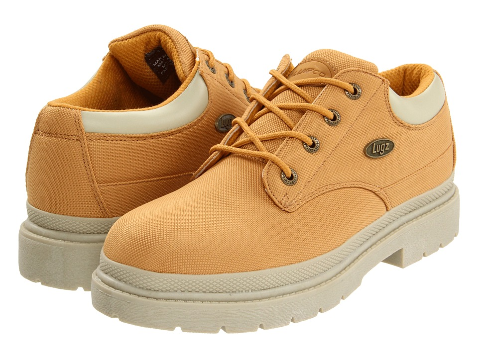 Lugz Drifter Lo Ballistic (Wheat/Cream Textile) Men