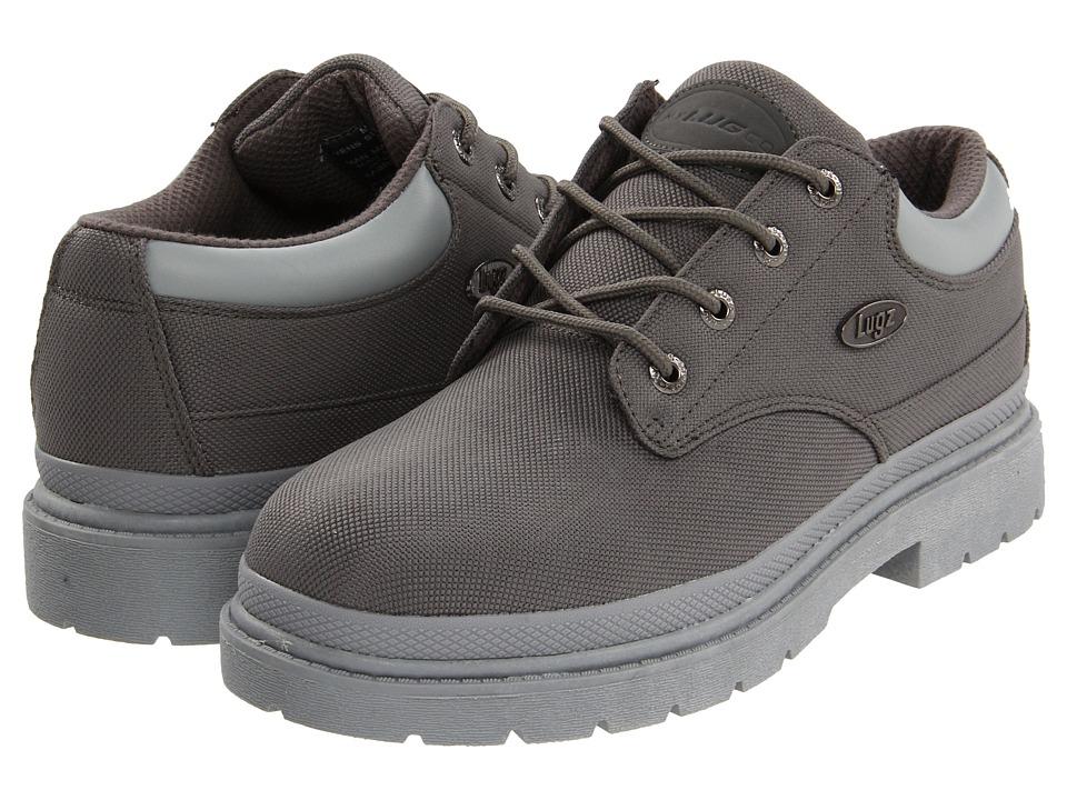 Lugz - Drifter Lo Ballistic (Grey/Light Grey Textile) Men