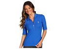 Juicy Couture - Pique Polo T-Shirt (Coastal Blue) - Apparel