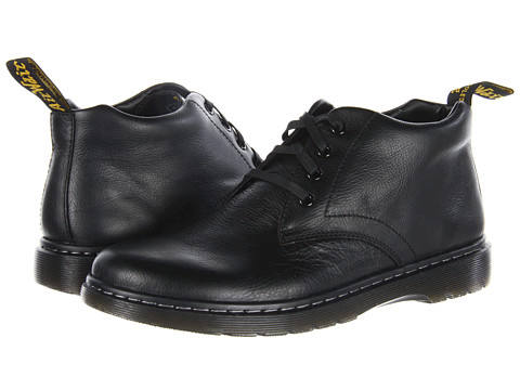 Dr. Martens - Barnie Chukka Boot (Black) Men's Lace-up Boots