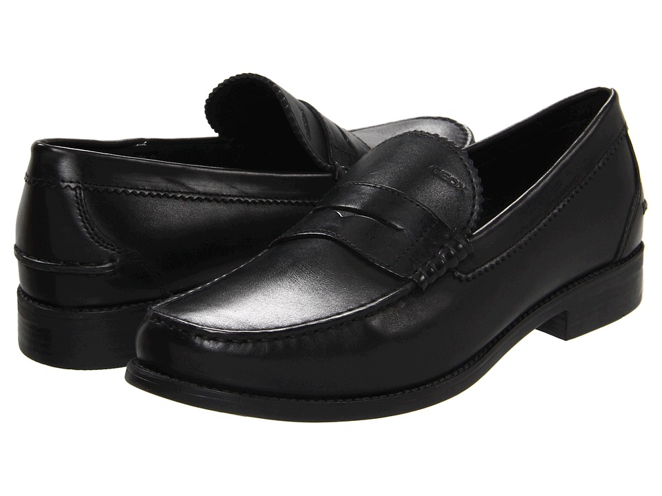 Geox - U Damon 2 (Black) Men's Slip on Shoes