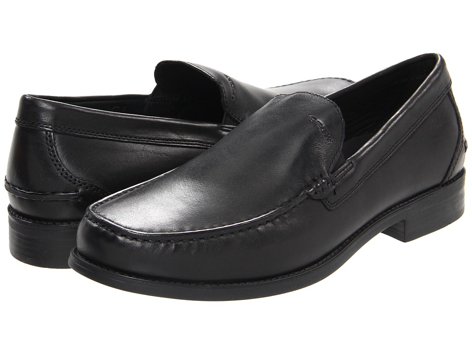 Geox - U Damon 1 (Black) Men's Slip on Shoes