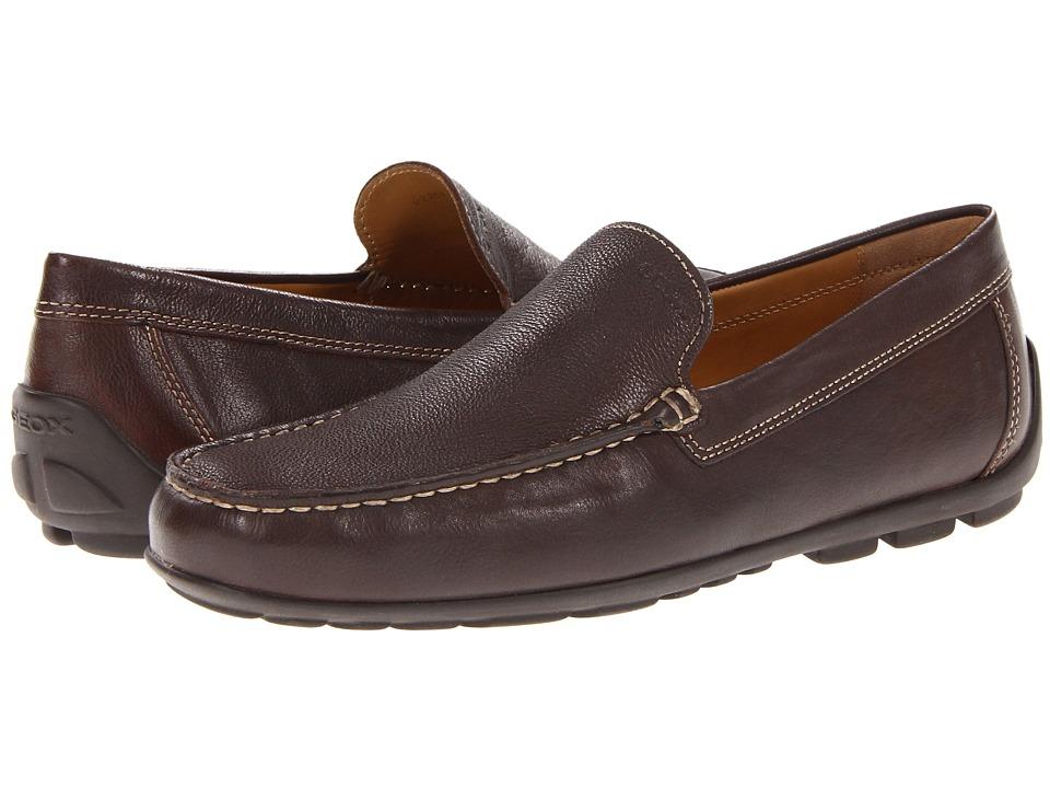 Geox - U Fast 11 (Coffee) Men's Slip on Shoes