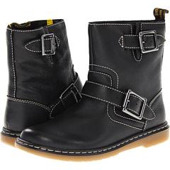 Dr. Martens Gayle Low Biker Boot (Black) Footwear