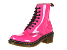 Dr. Martens - Clemency 8-Tie Boot (Hot Pink Lamper) - Footwear