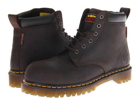 Dr. Martens - Forge ST 6 Eye Boot (Gaucho) Men's Lace-up Boots