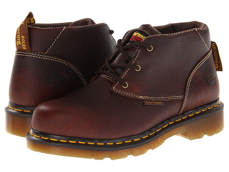 Dr. Martens - Izzy ST 3 Eye Chukka (Teak) Women's Lace-up Boots