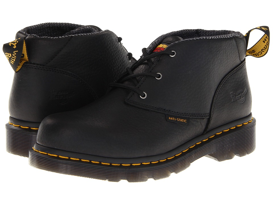 Dr. Martens - Izzy ST 3 Eye Chukka (Black) Women's Lace-up Boots