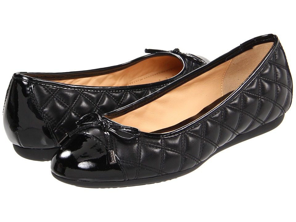 Geox - D Lola 54 (Black) Women's Flat Shoes