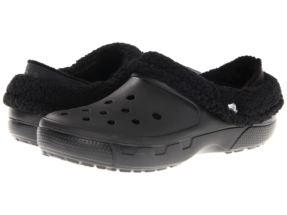 299988a51 ... UPC 883503925632 product image for Crocs Mammoth Core Full Collar  (Black Black) Clog ...