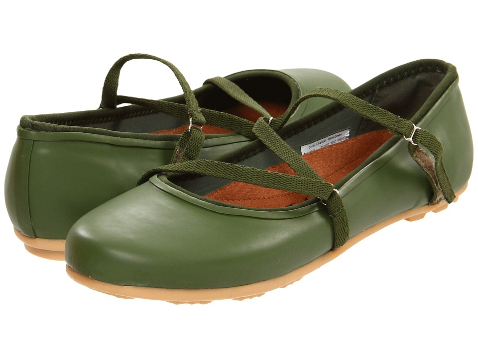 Chooka - Chantal Skimmer (Olive Green) Women's Hook and Loop Shoes
