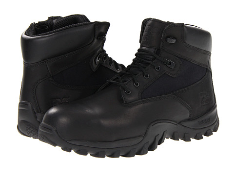 Timberland PRO - Valor McClellan 6 WP Composite Toe (Black) Men's Boots