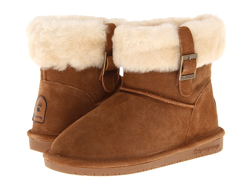 Image of Bearpaw - Abby (Hickory) Women's Pull-on Boots