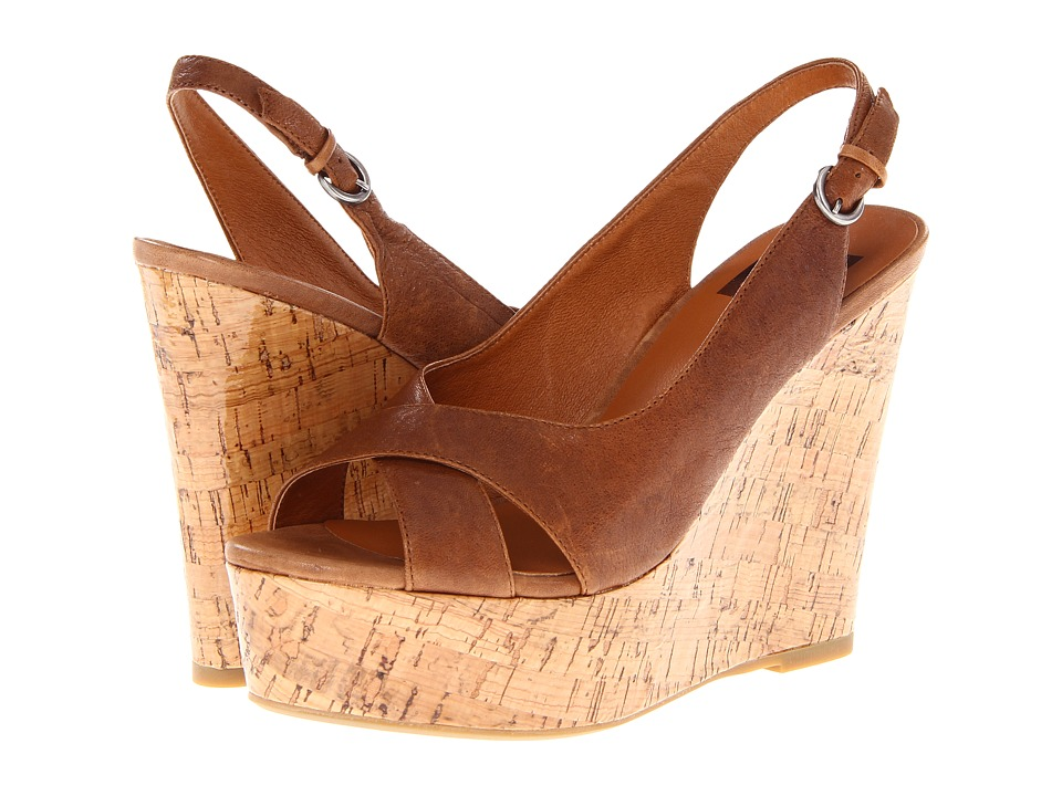 Dolce Vita - Jill (Natural Leather) Women's Wedge Shoes