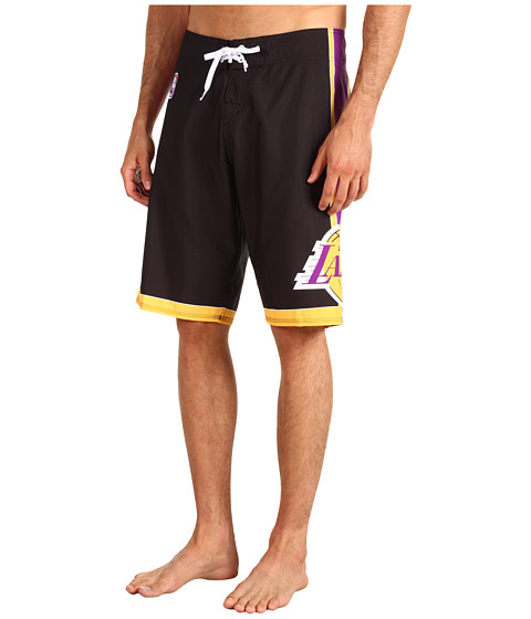Quiksilver - NBA Los Angeles Lakers Boardshort (Black) Men's Swimwear