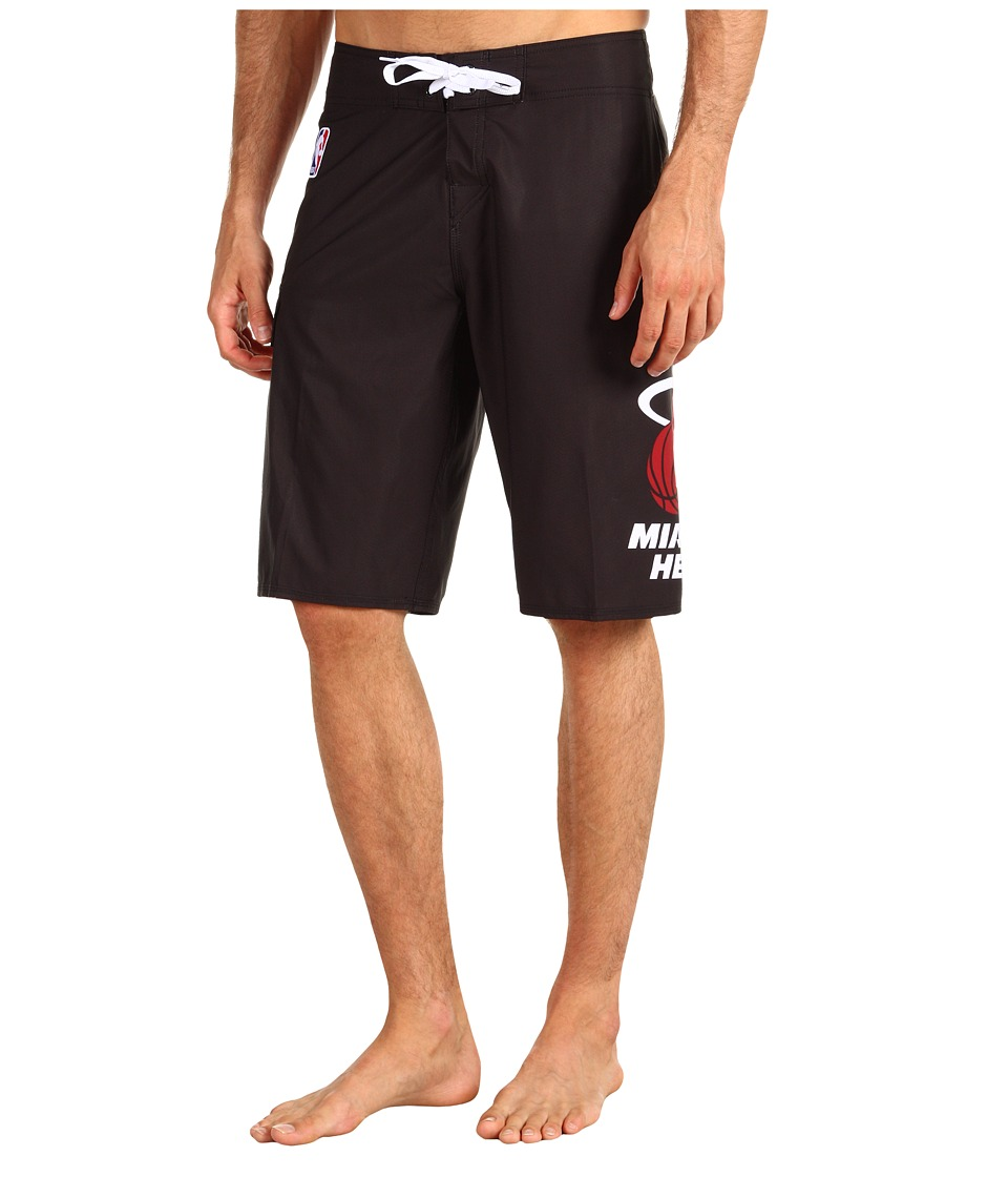 Quiksilver - NBA Miami Heat Boardshort (Black) Men's Swimwear
