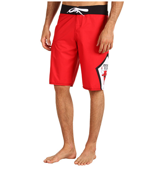 Quiksilver - NBA Chicago Bulls Boardshort (Red) Men's Swimwear