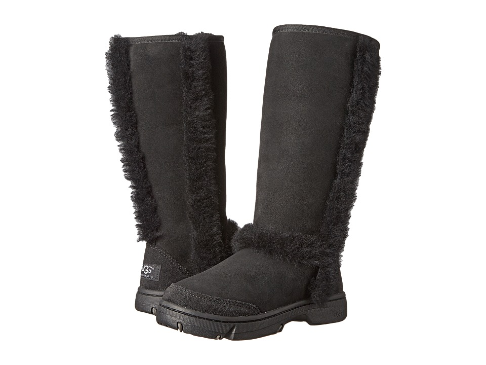 UGG - Sunburst Tall (Black) Women's Boots