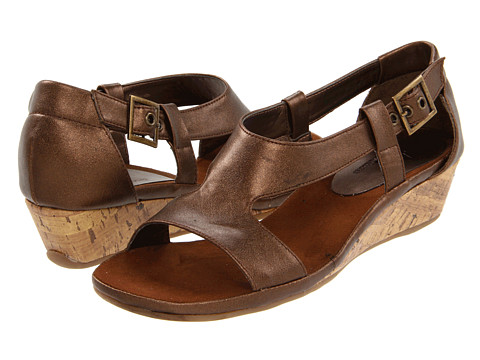 Aerosoles - A2 by Aerosoles Crown Chewls (Bronze PU) Women's Sandals