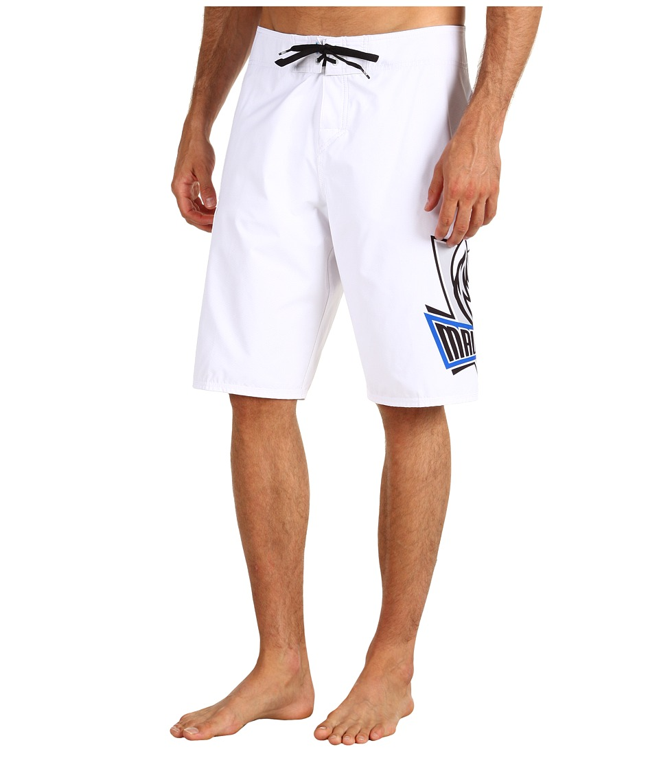Quiksilver - NBA Mavericks Boardshort (White) Men's Swimwear