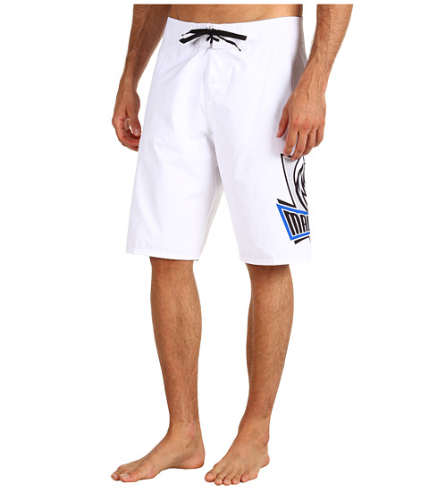 Quiksilver - NBA Mavericks Boardshort (White) Men